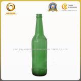 Bier-Glasflaschen-Knall-Schutzkappe des Smaragdgrün-500ml (586)