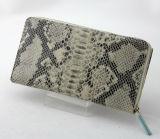 Bolsos de cuero de la carpeta material serpentina