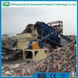 Plástico/metal/colchão/desperdício Waste da tela/pneu/Wood/PCB/Kitchen/espuma/Shredder Waste contínuo municipal