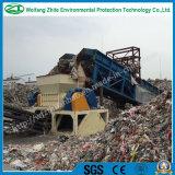 Solid plastica Gomma Acciaio / rifiuti / Can / pneumatico / biassiale albero / Legno industriale / PCB / Cucina rifiuti / schiuma / Osso di animale / Municipal Waste Shredder