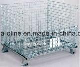 Recipiente de aço do engranzamento do equipamento do armazenamento (800*600*640)