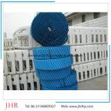 Infill redondo del terraplén del embalaje del PVC de la torre de enfriamiento
