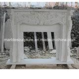 Camino del marmo di bordi del fiore bianco (SY-MF045)