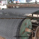 鉱山のための正方形ワイヤー網のひだを付けられた金網