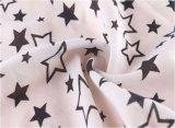 Cinque tessuto di rayon viscoso del reticolo di stelle 100 per la camicia/camicetta /Dress