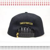 Kundenspezifische Entwurfs-Leerzeichen-Acrylhysteresen-Hüte mit Leopard-Leder-Rand