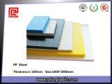 Pp colorés Plate avec Pure 100% Material