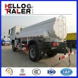 Caminhão do transporte do petróleo do caminhão de petroleiro 15m3 do combustível de HOWO 4X2