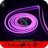 Neon esterno della flessione della decorazione LED di natale dei fronti del doppio