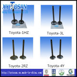 Intake & Exhaust Engine Parts for 3L 4y 1sz 1rz 1zz Toyota Engine Valve (Intake & Exhaust)