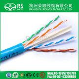 Passage d'essai de flet de câble de réseau Ethernet de CAT6 UTP