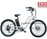 여성 전기 자전거를 위한 리튬 건전지를 가진 모래 자전거