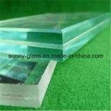 vidro laminado moderado segurança de 6.38-50mm - vidro do edifício do sanduíche