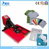 Machine à haute pression de presse de la chaleur pour la machine de sublimation de transfert thermique d'impression de T-shirt