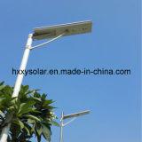 하나에서 20W 태양 외부 램프 태양 LED 램프 전부