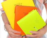 Het Notitieboekje van de Dekking van het leer met Embleem Deboss