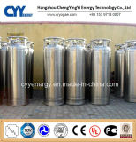 Cylindre industriel de vase Dewar de CO2 d'argon d'azote d'oxygène liquide de basse pression