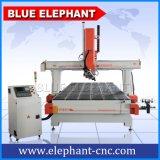 2050 máquina del CNC del corte del MDF del Atc, máquina de grabado del CNC de 4 ejes para la madera, vector, piernas de la silla