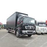 중국 Sinotruk HOWO 4X2 10ton 가벼운 밴 화물 트럭
