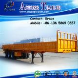 좁고 깊은 골짜기 제조자 세 배 차축 측벽 공개 칼럼 널 화물 트럭 트레일러