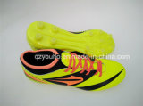 工場安い黄色はサッカーの靴を着色する