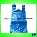 HDPE Abfall-Beutel mit Gleichheit-Griff im Bündel
