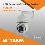 Foco IP66 auto, Awb, Agc, Blc ao ar livre da câmera do IP de Mvteam PTZ