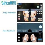 Rejuvenescimento focalizado Hifu da pele do tratamento do enrugamento da máquina do ultra-som da intensidade elevada