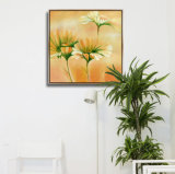 3つのパネルの現代美術の再生の現代絵画映像はホームおよびオフィスのためのキャンバスで印刷した