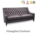 Strato Tufted del sofà del cuoio della mobilia del salone di alta qualità (HD542)