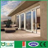Раздвижная дверь индийского типа Pnoc080213ls алюминиевая с новой конструкцией