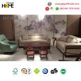 Sofá italiano del cuero genuino fijado para los muebles caseros (HCS05)