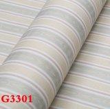 Paño de pared del PVC, papel pintado del PVC, PVC Wallcovering, papel de empapelar del PVC, tela de la pared del PVC, papel pintado del PVC
