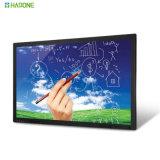 65 pulgadas todas en el un panel de visualización de la pantalla táctil del LCD LED