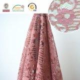 De Stof van het Kant van het borduurwerk, BloemenPatroon, Manier en Mooi voor Afrikaanse en Zwitserse Dame Dress Ln10073