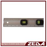 2 작은 유리병 및 Handle152를 가진 양극 처리된 다기능 알루미늄 통치자