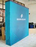 Эластичное знамя ткани, рамка алюминия задняя хлопает вверх стойка для рекламировать случая