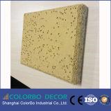 El panel acústico de la Madera-Seda del coprotagonista del material de construcción