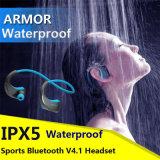 La armadura G06 Ipx5 de Dacom impermeabiliza los deportes sin hilos del auricular de los auriculares de Bluetooth que funcionan con el Oído-Gancho de leva del receptor de cabeza con Mic Fone De Ouvido