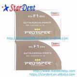 Dentsply Maillefer Protaper 구타페르카는 F1-F5 60PCS/Box를 가르킨다