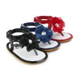 Цветы первых ходоков сандалий Prewalker лета ребёнка различные