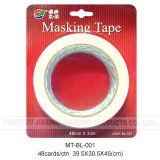 cinta adhesiva de 48m m de los x 30m en tarjeta de la ampolla