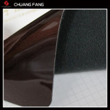 ミラーのハンドバッグのための表面の模造PU PVC革