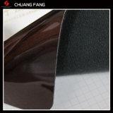 Кожа PVC PU имитации зеркала поверхностная для сумки