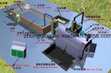 Pneumático 2015 verde para olear o recicl da planta 12tpd da pirólise