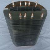 теплоотвод алюминиевых ребер 500W медный