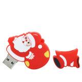 Regalo istantaneo di natale del USB dell'azionamento 128GB del Babbo Natale del pacchetto più grande