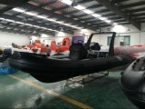 Barco inflable de Hypalon de la orca del barco de la costilla de Hypalon