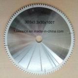 305X3.2X32 X100t Tctの円の炭化物は木製の切断については鋸歯を