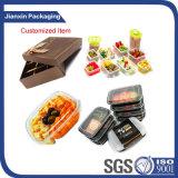 Contenitore di alimento di plastica a gettare dei pp